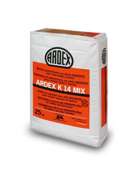 ARDEX K14 MIX - Mortero autonivelante rápido premezclado