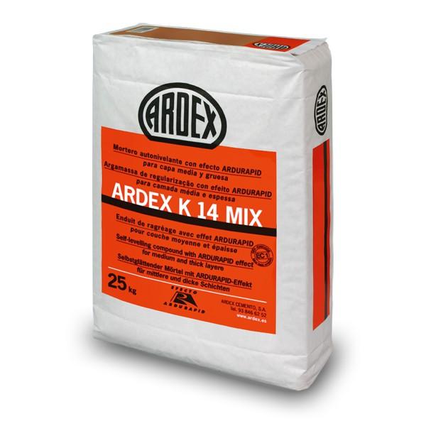 Mortero autonivelante r pido premezclado ardex k14 mix - Mortero autonivelante precio ...