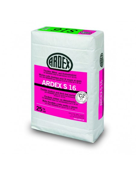 ARDEX S16 - Cemento cola flexible para colocación de piedra natural