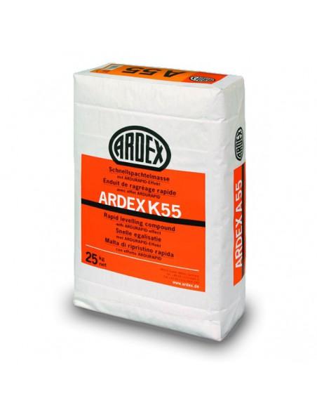 ARDEX K55 - Mortero autonivelante rápido revestible