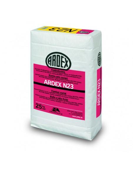 ARDEX N23 - Cemento cola flexible gris para la colocación en capa fina