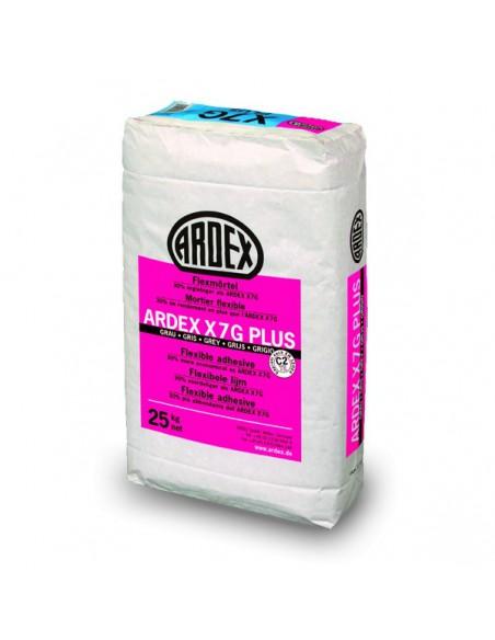 ARDEX X7G PLUS - Cemento cola flexible gris resistente al agua y a heladas