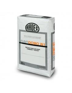 panDOMO® W1 - Estuco fino cementoso blanco para decorar