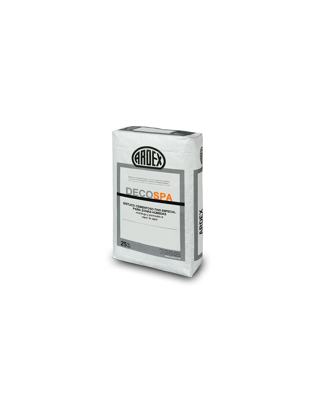Estuco cementoso fino especial para zonas h medas deco spa - Morteros autonivelantes precios ...
