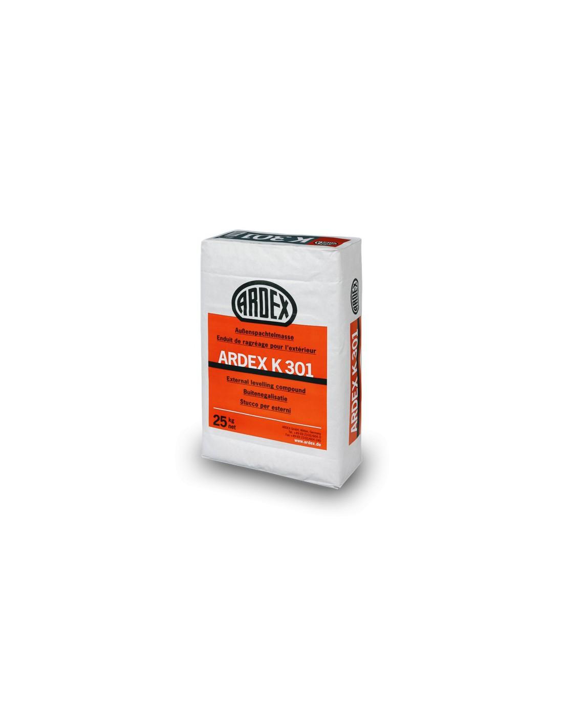 Mortero autonivelante especial para exteriores ardex k301 for Pasta autonivelante precio