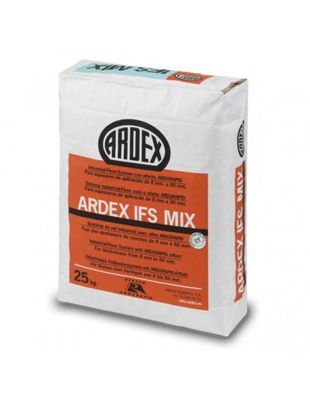 ARDEX IFS MIX - Mortero autonivelante industrial premezclado