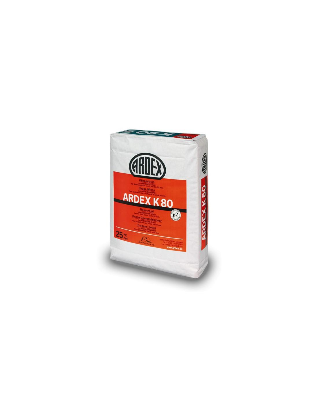 Mortero autonivelante r pido efecto hormig n pulido ardex k80 for Pasta autonivelante precio