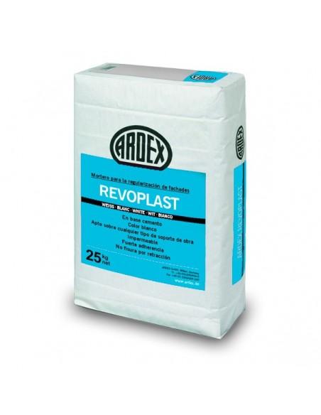 REVOPLAST - Mortero blanco para regularización de fachadas