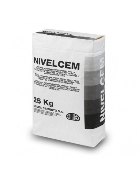 NIVELCEM PLUS - Mortero autonivelante o pasta niveladora de secado rápido.