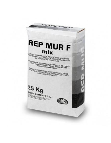 REP-MUR F MIX - Mortero de reparación de fraguado rápido con fibras