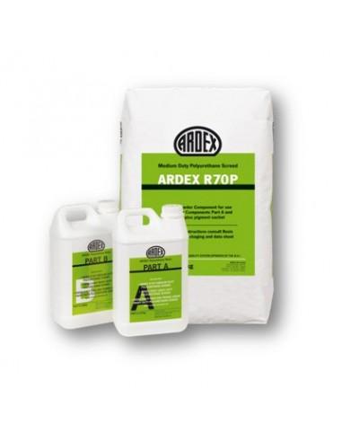 ARDEX R70P - Mortero de PU Poliuretano cemento de alta resistencia