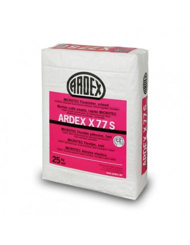 Cemento cola flexible super r pido y rejuntable ardex x77s - Cemento rapido precio ...