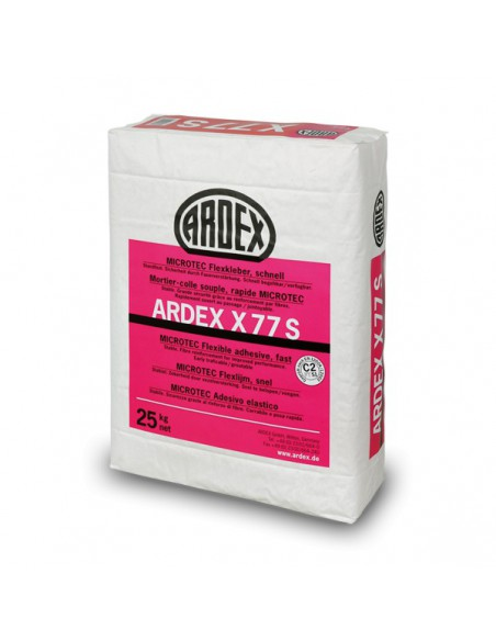 ARDEX X77S - Cemento cola flexible ultra rápido