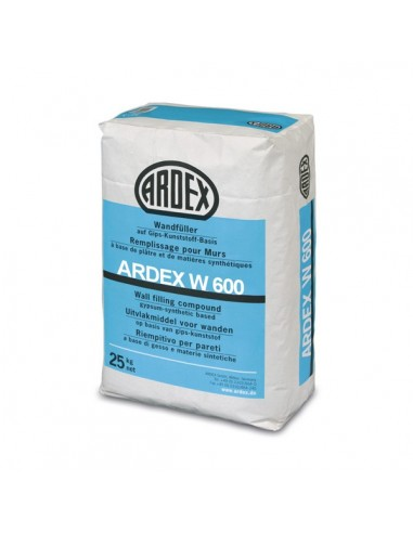 ARDEX W600 - Masilla de enlucido y alisado de paredes y techos