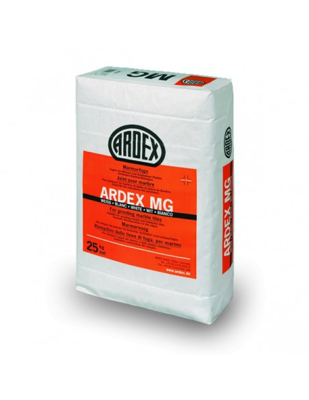 ARDEX MG - Mortero para rejuntar marmol y piedra natural