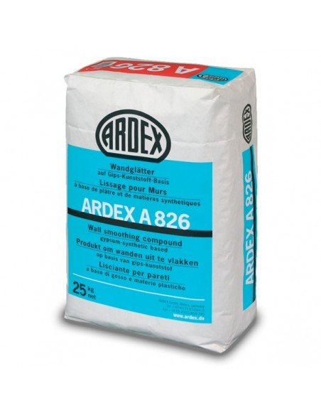 ARDEX A826 - Masilla para alisado de paredes y techo