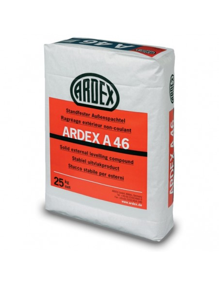 ARDEX A46 - Mortero de reparación fino de fraguado rápido para exterior