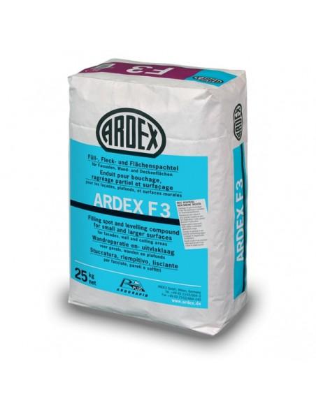 ARDEX F3 - Mortero para renovación de paredes, fachadas y techos