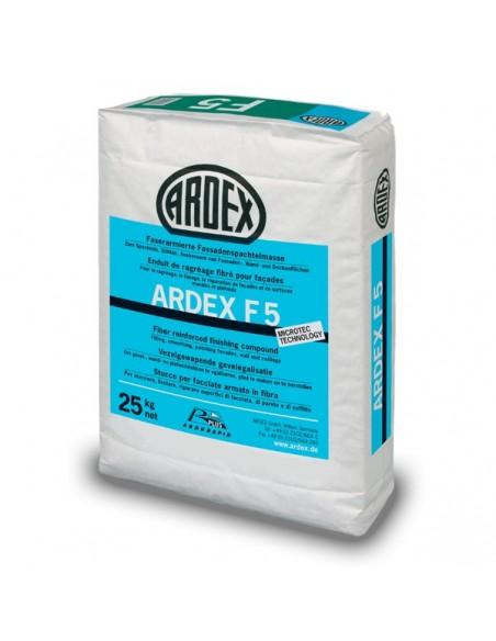 ARDEX F5 - Mortero de acabado y emplaste reforzado con fibra