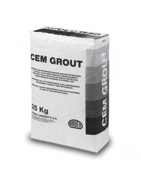 CEMGROUT - Mortero sin retracción fluido para anclajes
