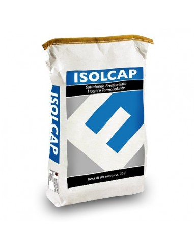 ISOLCAP FEIN 300 - Lightweight thermo-insulating ready-mixed mortar