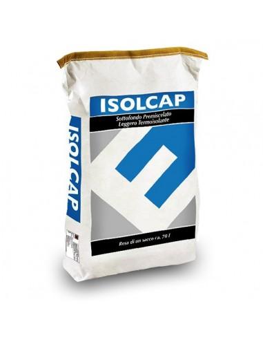 ISOLCAP FEIN 300 - Mortier prêt à l'emploi léger et thermo-isolant