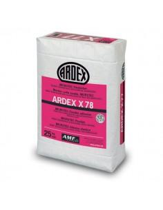 ARDEX X78 - Adhesivo para materiales poco porosos en suelos