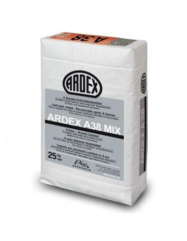 ARDEX A38 MIX - Mortero rápido para recrecidos