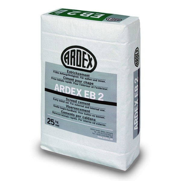Cemento r pido para recrecidos de alta resistencia ardex eb2 - Cemento rapido precio ...
