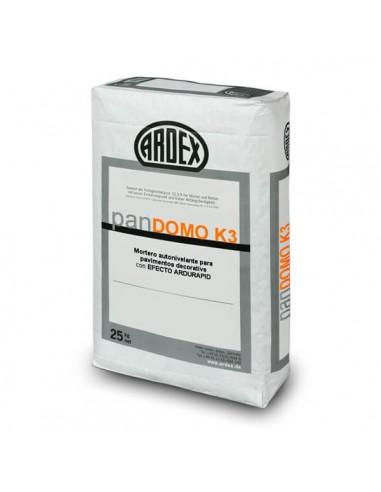 panDOMO® K3 - Mortero autonivelante cementoso gris