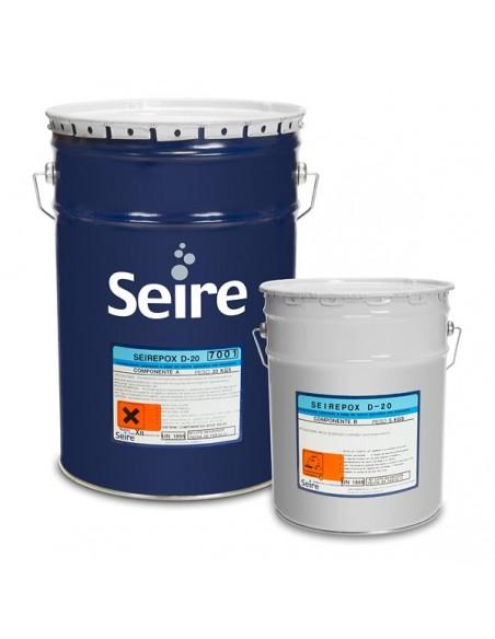 Seirepox D-20 - Pintura epoxy base agua para pavimentos industriales