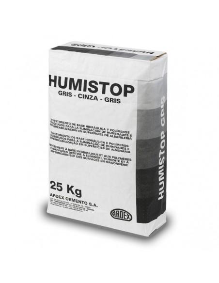 HUMISTOP GRIS - Mortero impermeabilizante cementoso color gris