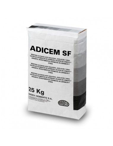 ADICEM SF - Mortero autonivelante o pasta niveladora industrial