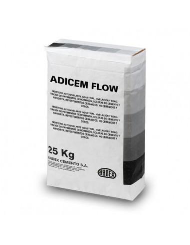 ADICEM FLOW - Mortero autonivelante o pasta niveladora industrial