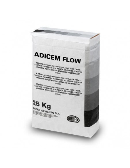 ADICEM FLOW - Mortero autonivelante para grandes superficies