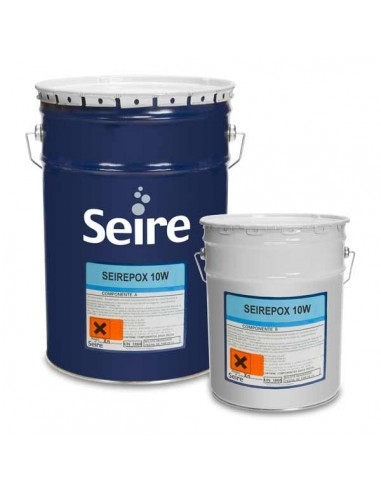Seirepox 10W - Water-based epoxy paint for damp substrates