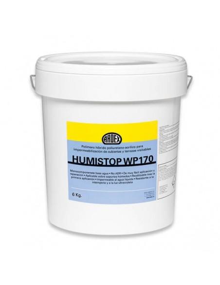 HUMISTOP WP170 - Lámina impermeabilizante líquida, flexible y monocomponente