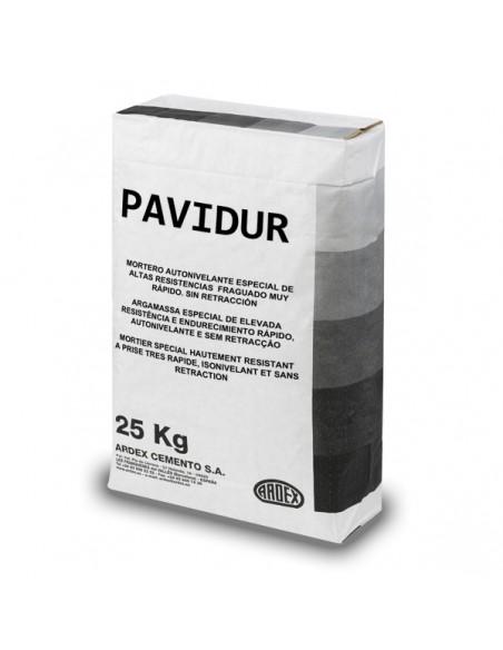 PAVIDUR - Mortero de reparación rápido para pavimentos