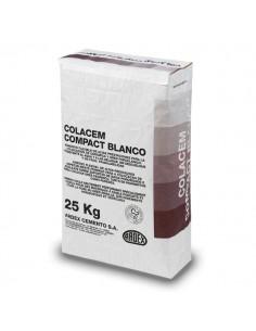 COLACEM COMPACT  BLANCO - Cemento cola porcelánico color blanco