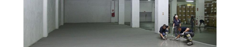 High resistance industrial flooring