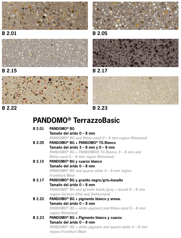pandomo Terrazzo Micro